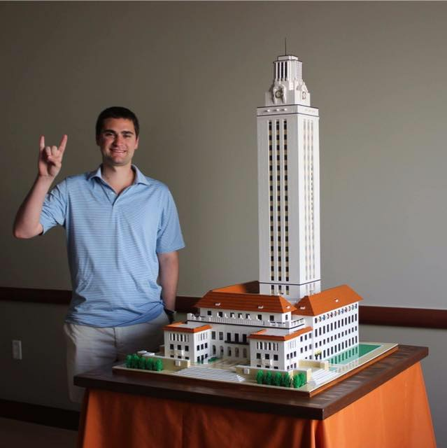 Student Builds University Of Texas Tower Entirely Out Of