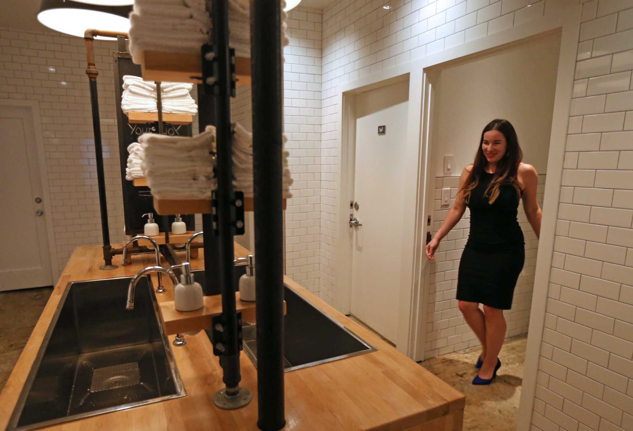 Houston restrooms outpace politics  HoustonChroniclecom