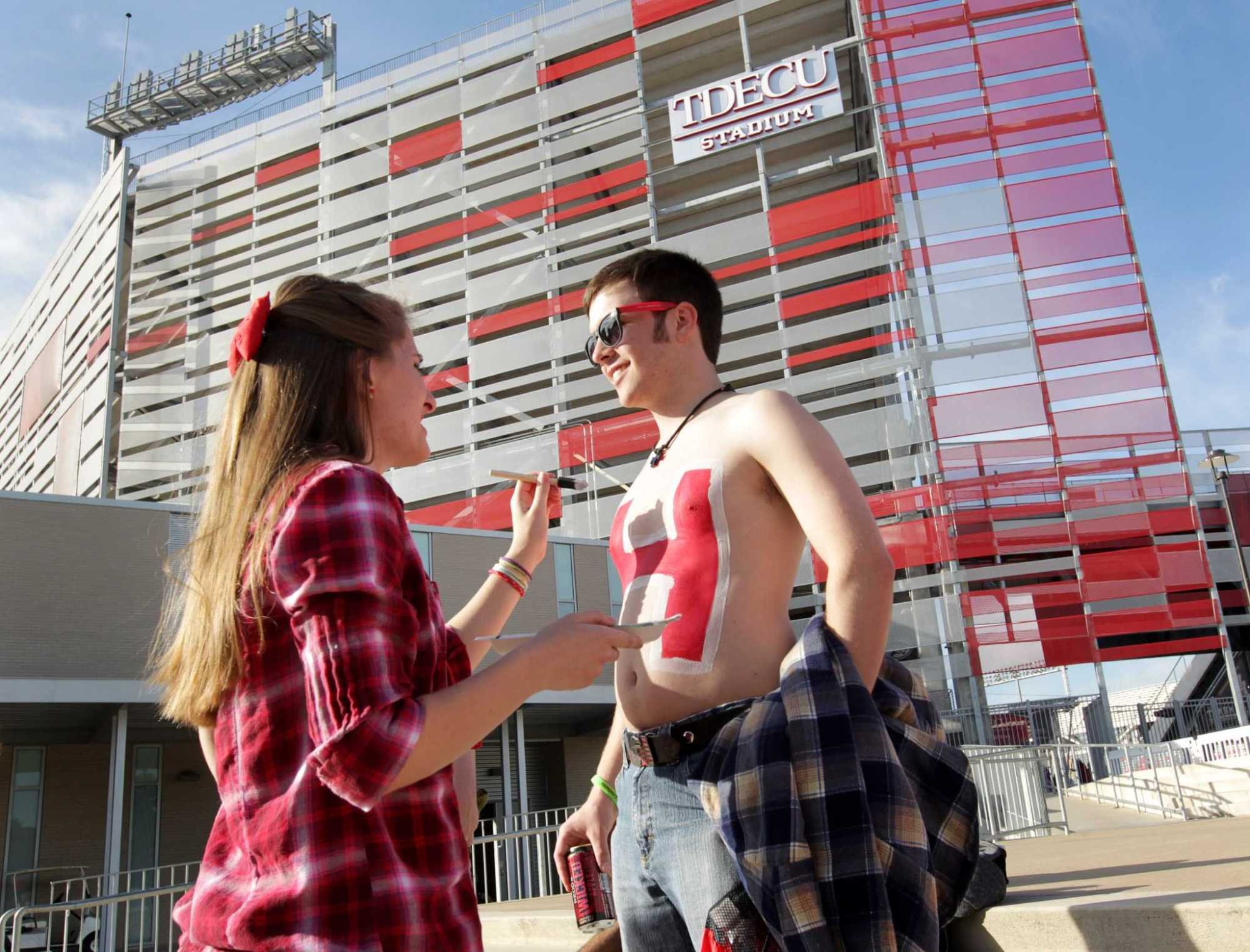 hight resolution of cost of uh football stadium still unclear more than a year after opening
