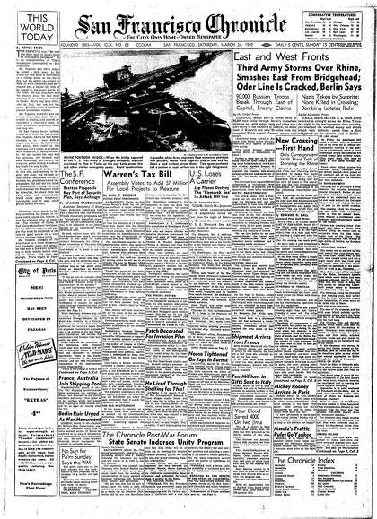Chronicle Covers: When U.S. and Soviets converged on Berlin ...