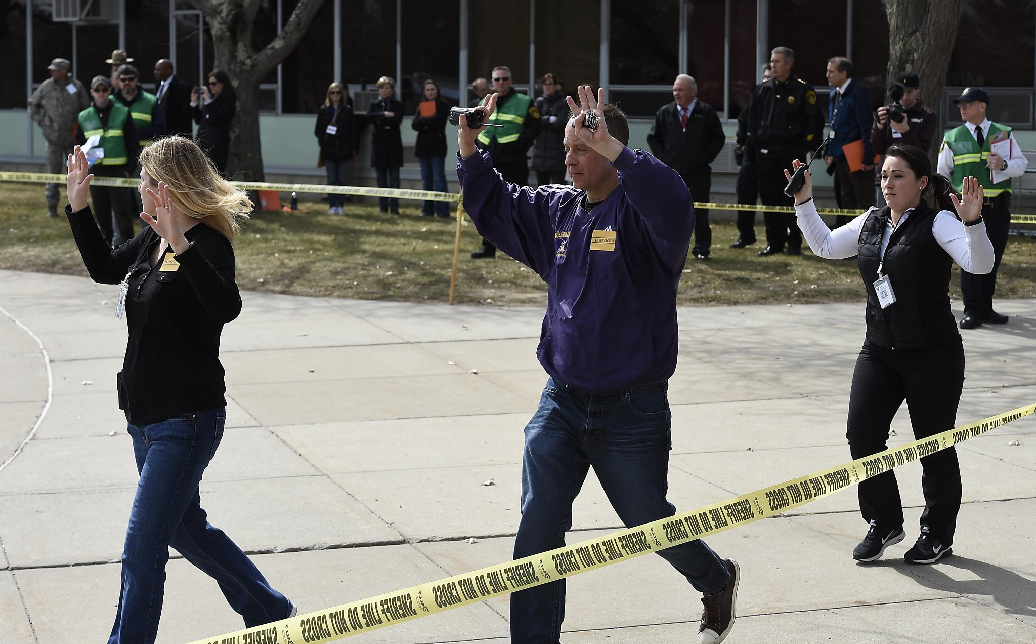 Schools Use Active Shooter Drills To Prepare For Armed