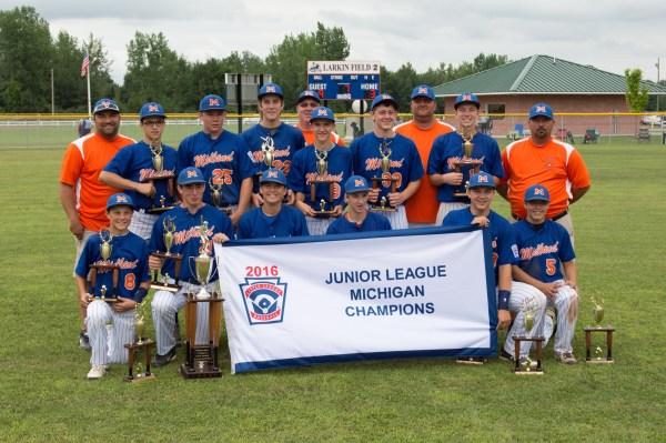 Junior League Baseball State Championship - Midland Daily