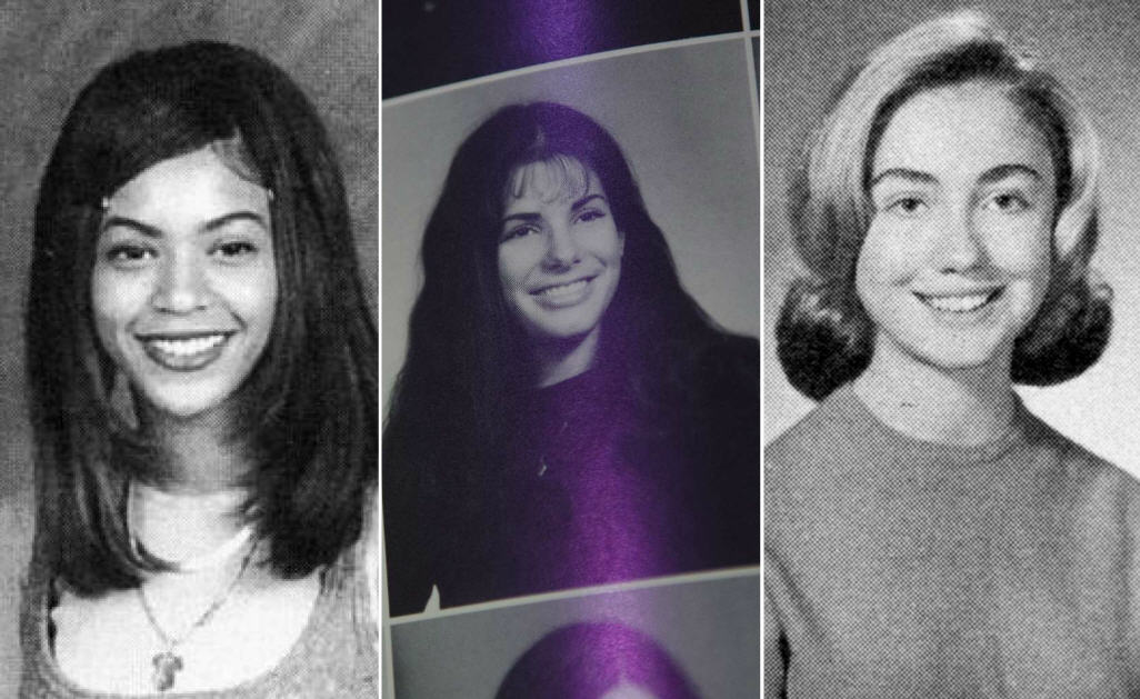 these celebrity yearbook photos
