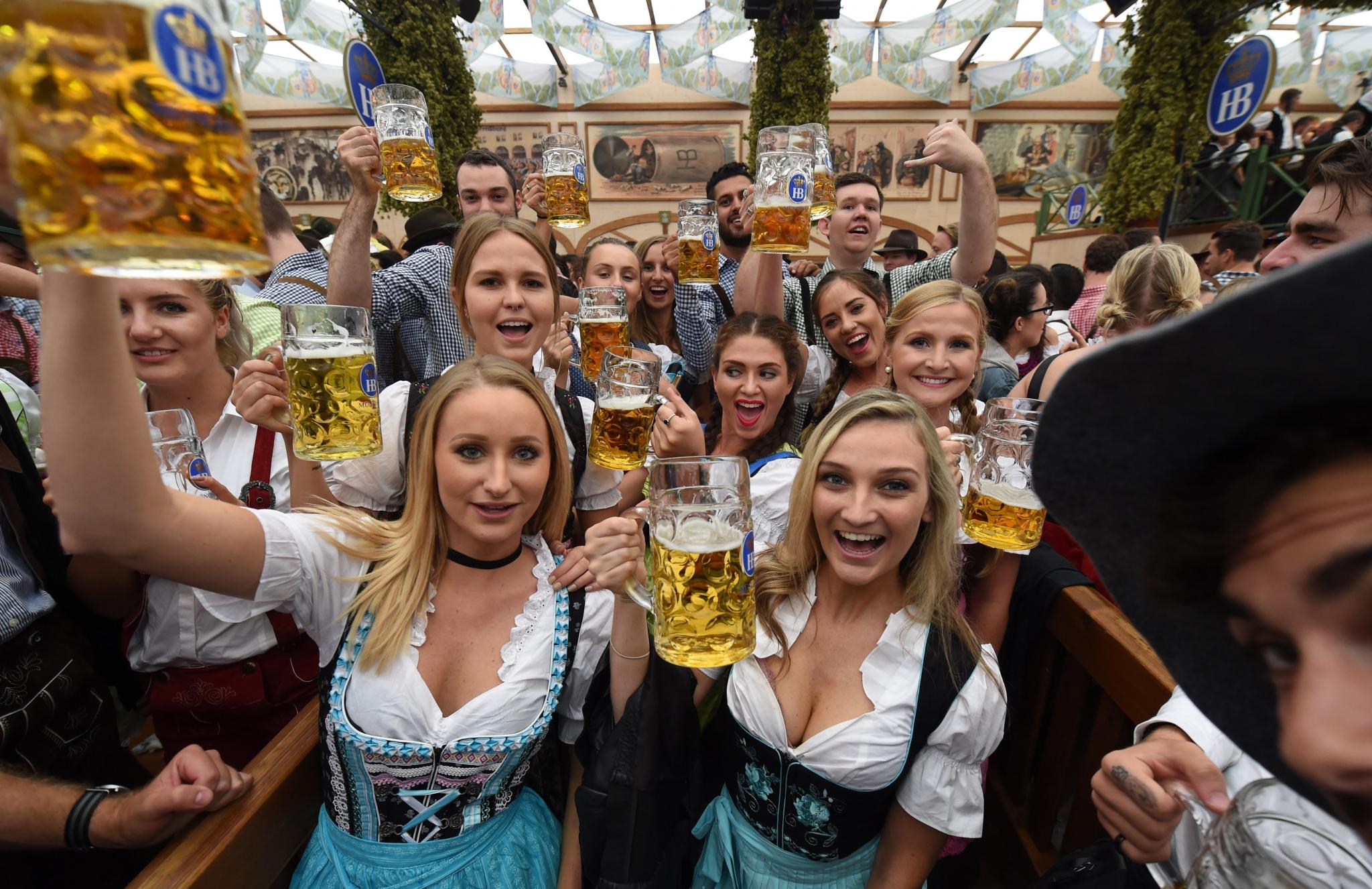 Oktoberfest 2016 kicks off in Munich - Houston Chronicle