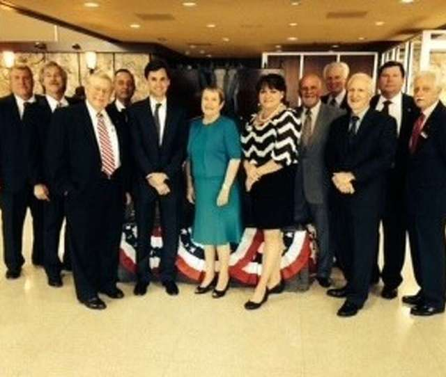Shown Here Is First Liberty National Banks Board Of Directors From Left They Are Matthew