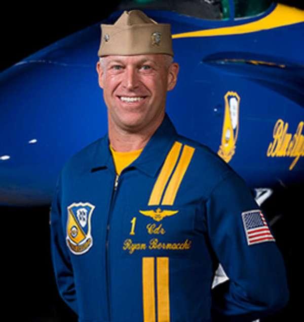 Top Guns Daredevil Pilots Flying Blue Angels