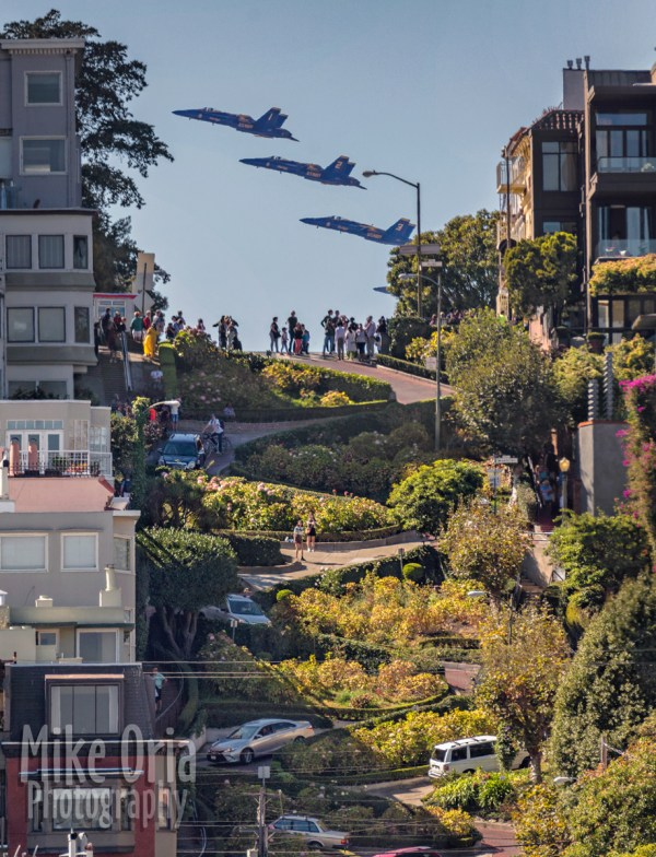 Blue Angels Lombard Street Good