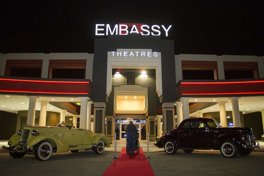 Here S A Peek Inside The Renovated Embassy Theater San