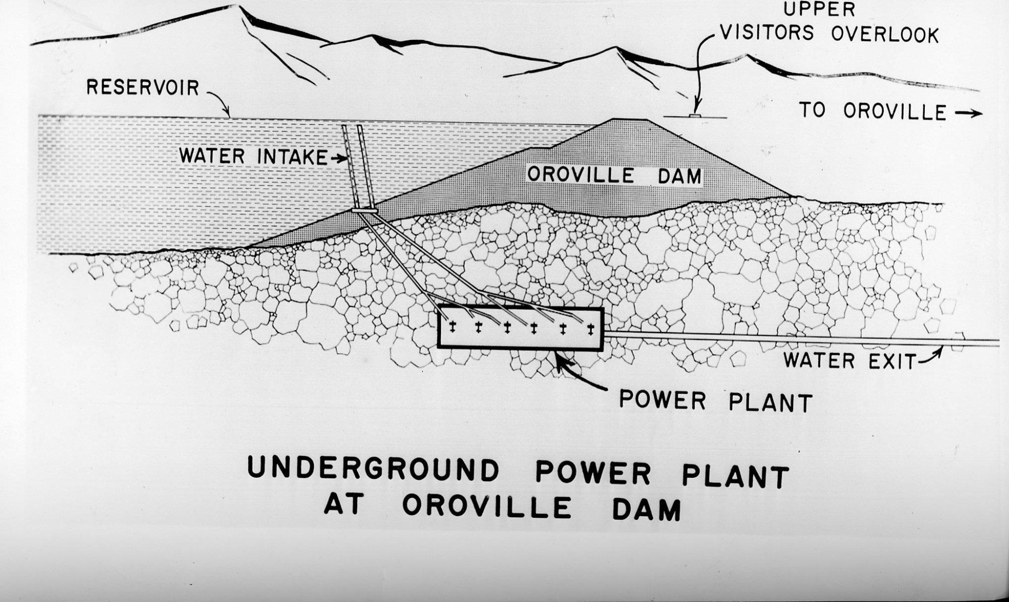 hight resolution of oroville dam a look back at massive structure s construction