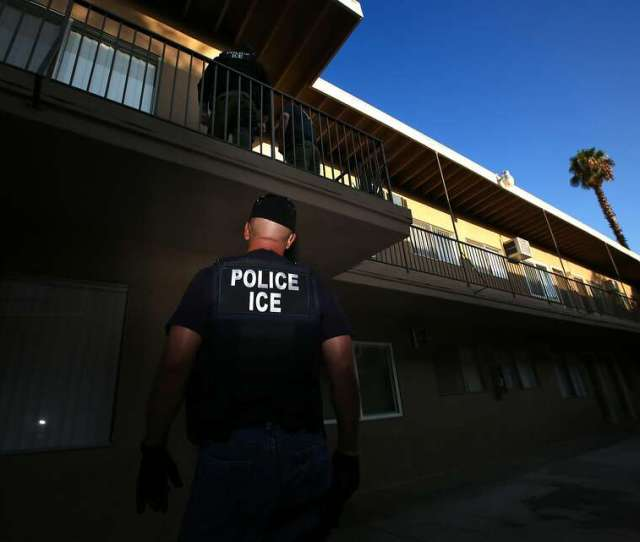 File Ice Enforcement And Removal Operations Unit Raid To Apprehend Immigrants Without Any Legal Status