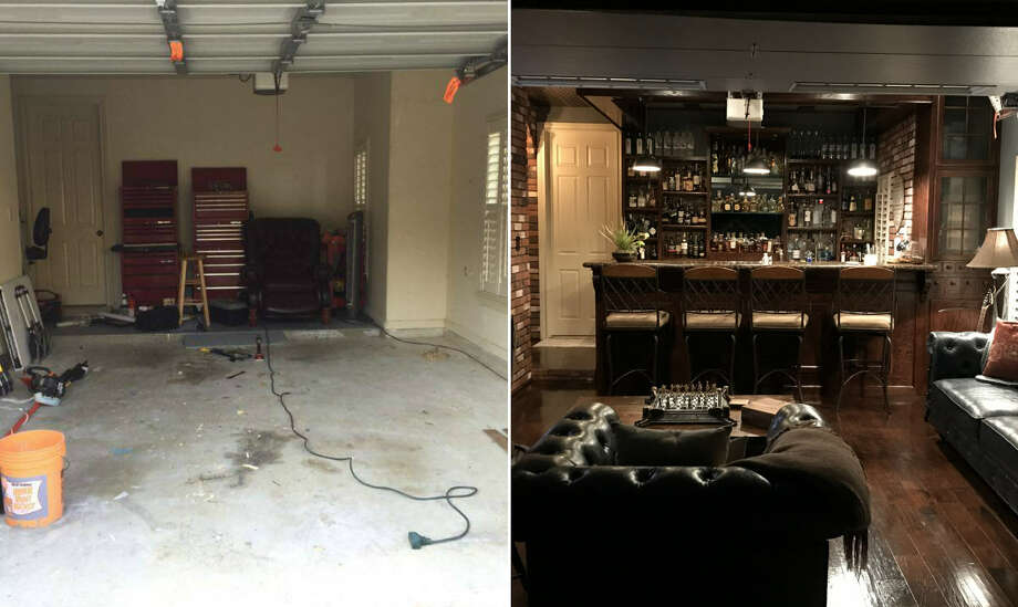 Houston Man Rehabs His Garage To Create An Epic Man Cave