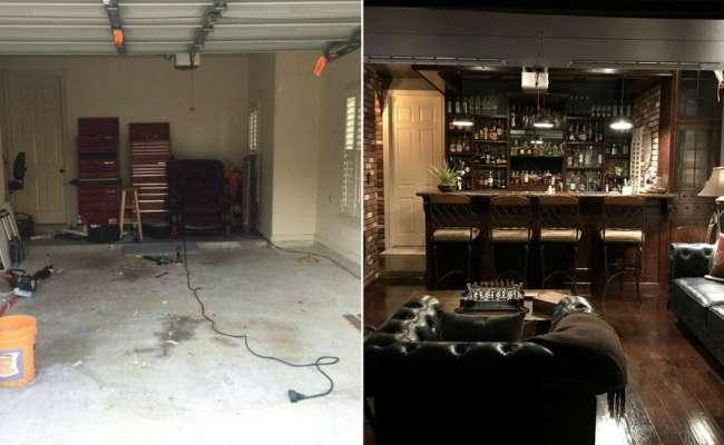 Houston Man Rehabs His Garage To Create An Epic Man Cave