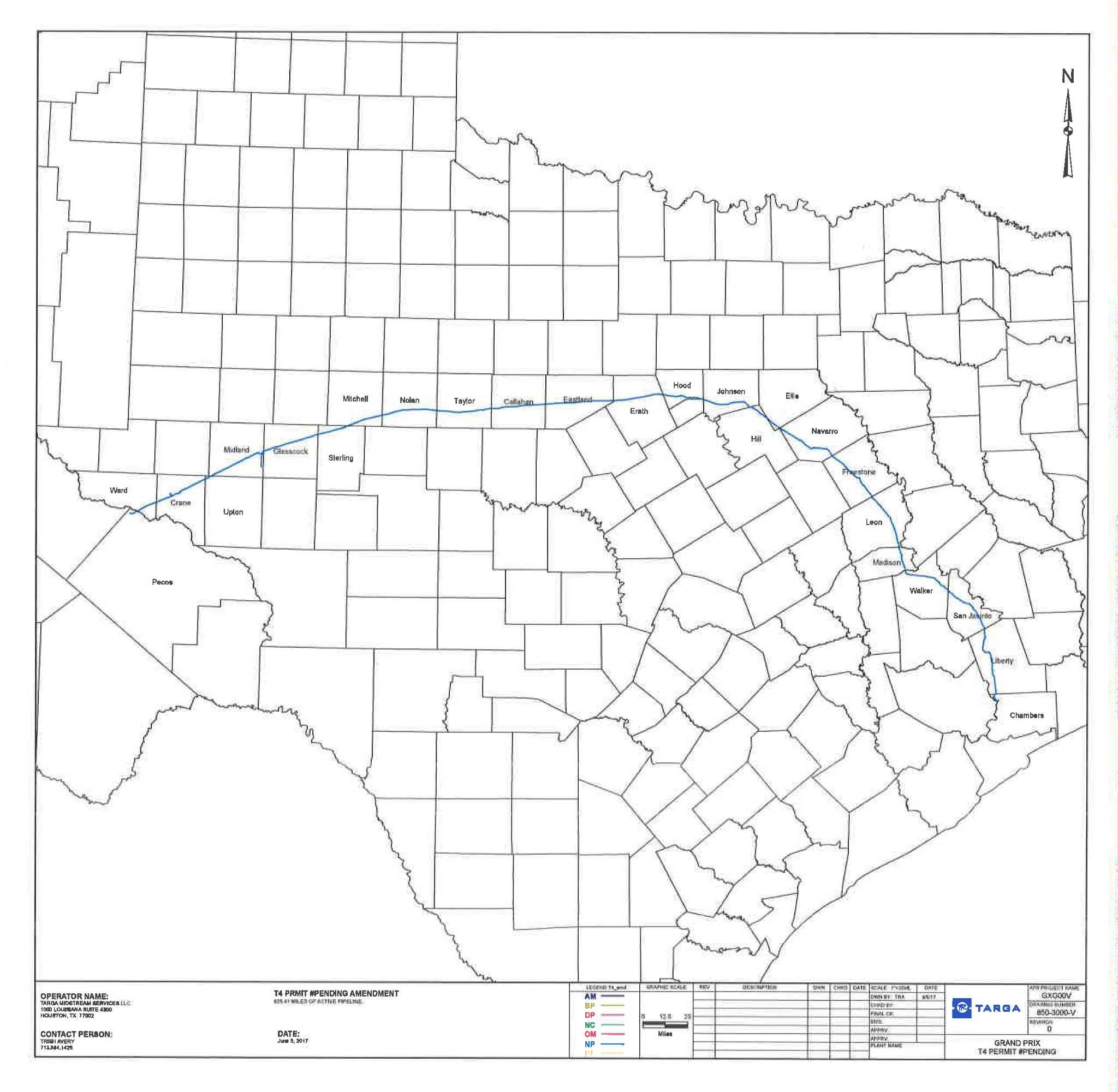 Targa to build NGL pipeline through Liberty County