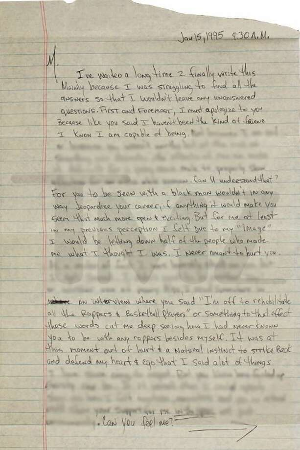 Tupac\u0027s Breakup Letter To Madonna Over Race Has