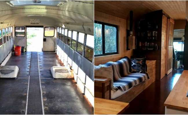 Austin Guy Spends 15k To Make A Tiny Home Out Of A School