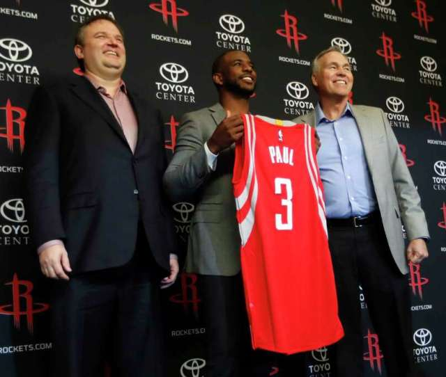 Veteran Point Guard And Likely Hall Of Famer Chris Paul Was The Centerpiece Addition Of The