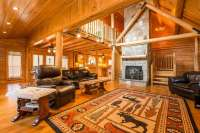 On the Market / Wilton log house abuts acres of open space ...