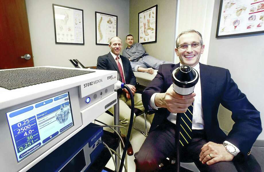 New machine in use in Connecticut treats tendinitis foot ...