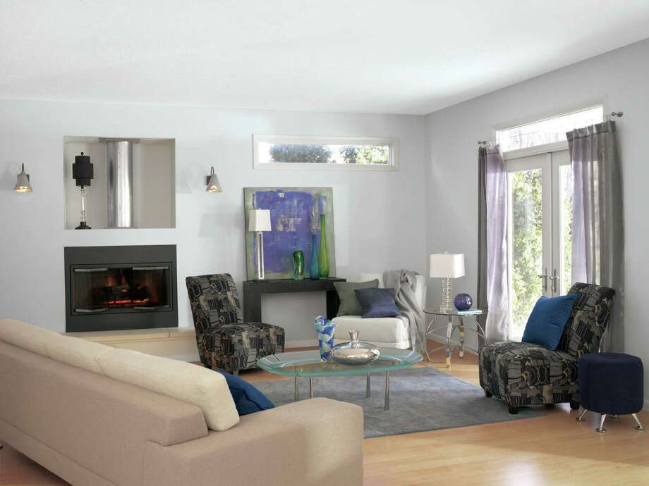 top sherwin williams paint colors for living room furniture sets cheap greige y tones dominate houston chronicle a painted in most popular color gray screen