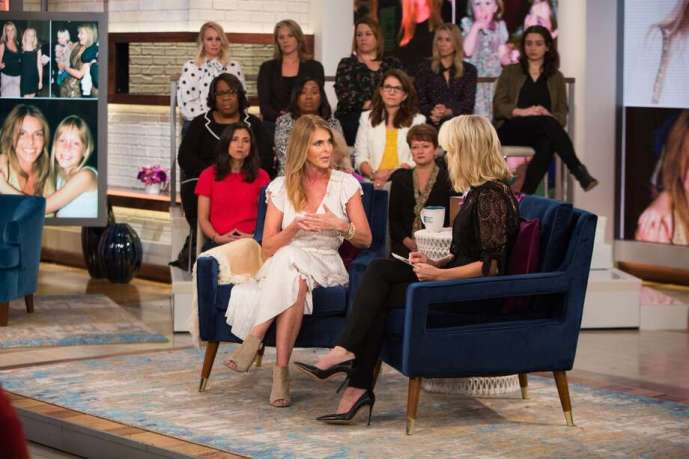 Image result for catherine oxenberg MEGYN KELLY good morning america