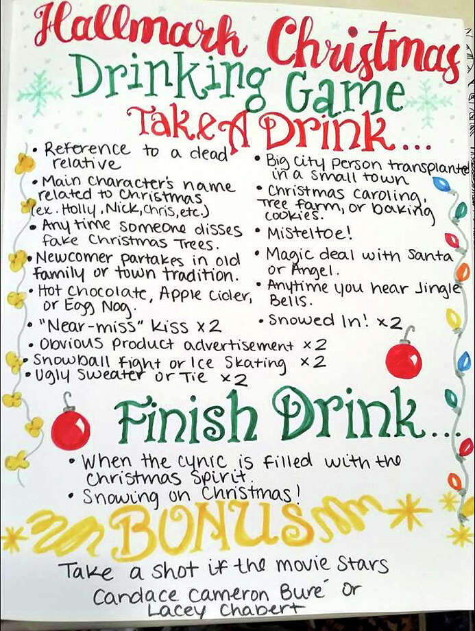 Texas Woman Creates Hallmark Christmas Movie Drinking Game