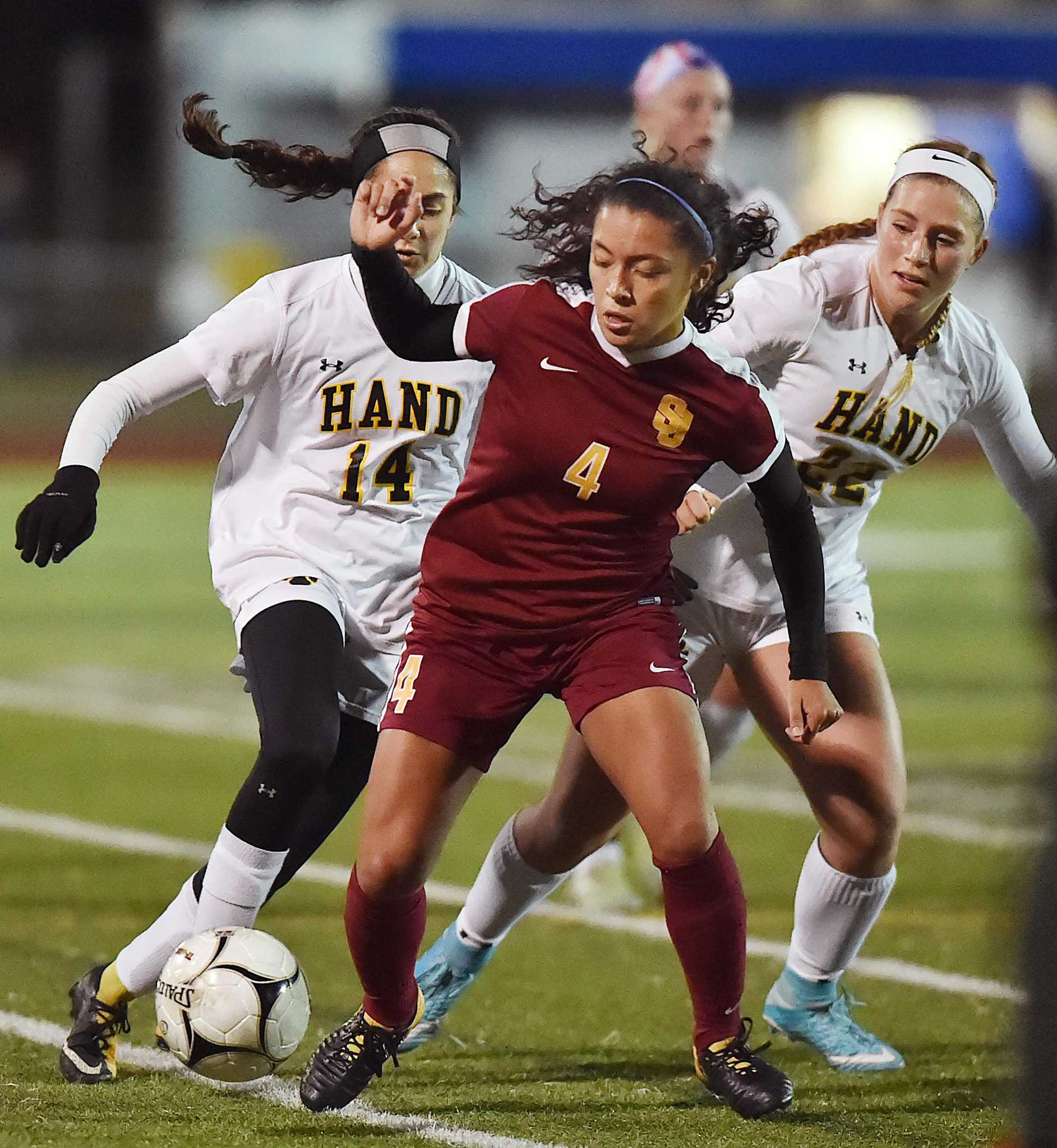 Girls soccer St Joseph shuts out Hand to go for Class L threepeat Saturday  New Haven Register