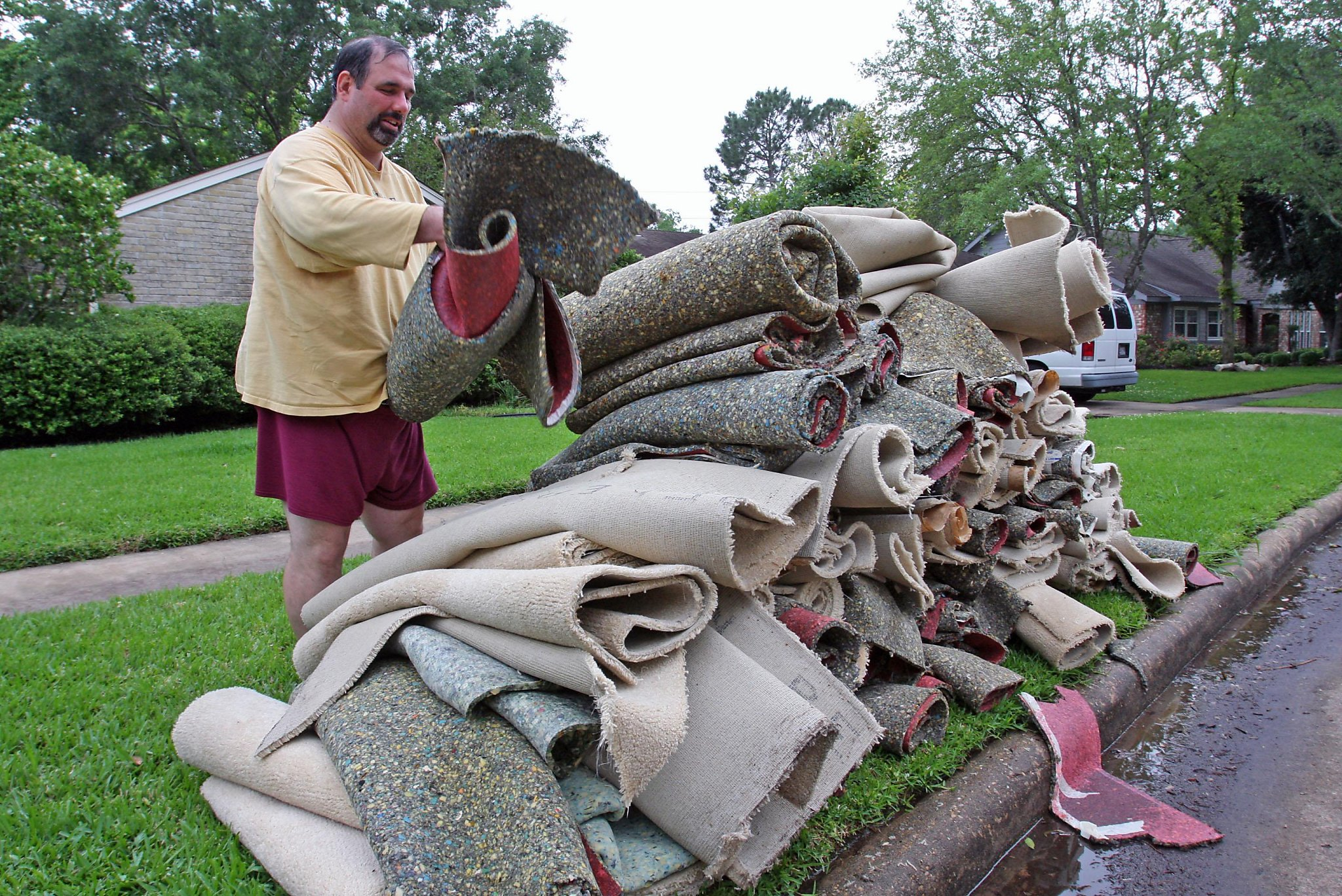 Carpets Add To Wildfires Toxic Air Pollution