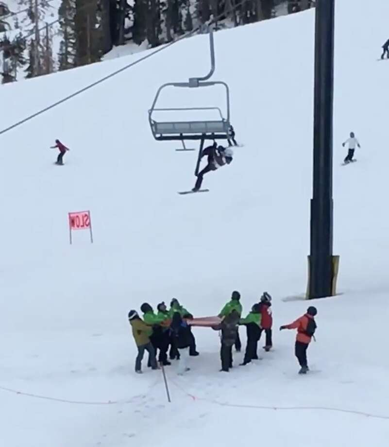 ski chair lift bedroom ball terrifying moment a teen skiier dangles from mammoth chairlift skier at mountain in california was rescued thursday afternoon after dangling upside down