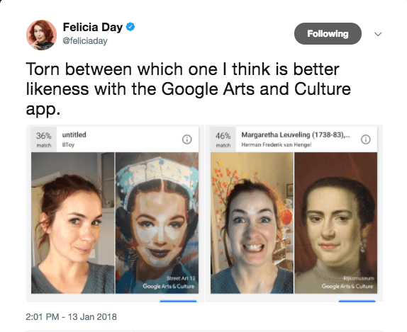 google app finds museum