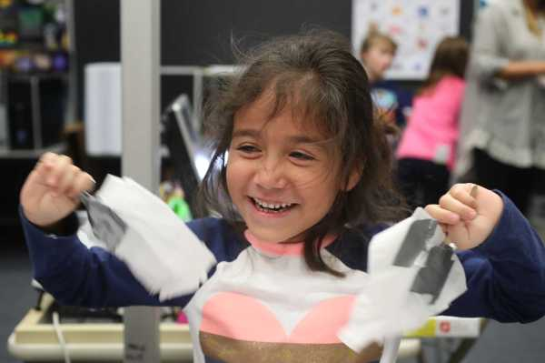 Hands- Projects Expose Elementary Students Stem Early