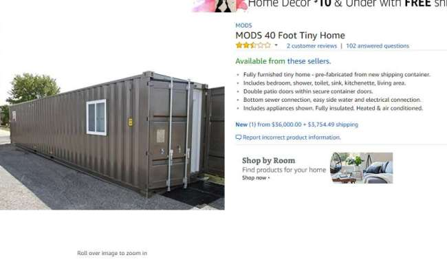 You Can Now Buy A Tiny House On Amazon Get It Delivered