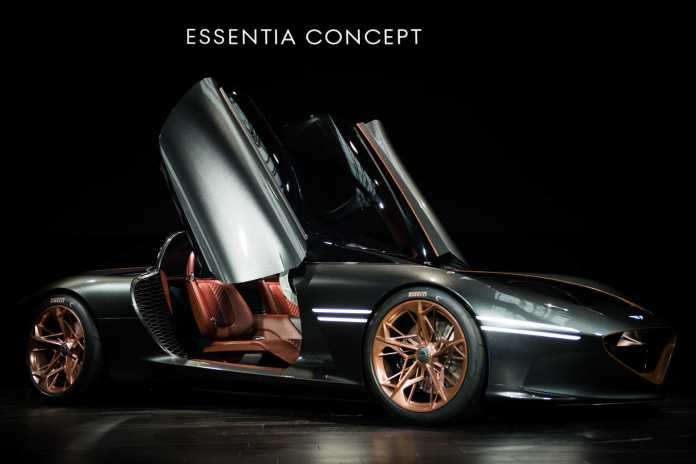 hyundai's future: gensis all-electric essentia concept - san antonio