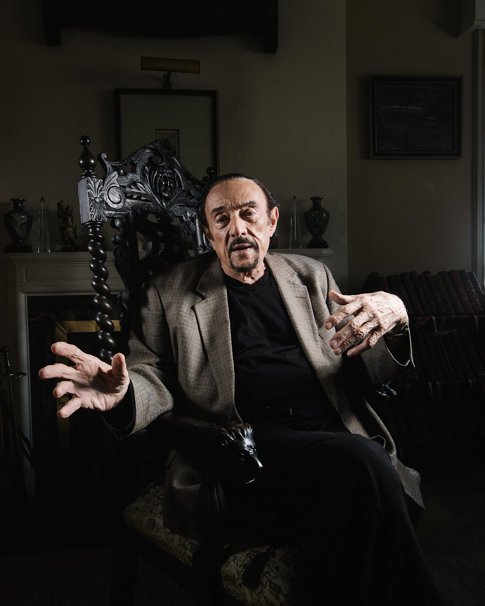 dr evil chair gander mountain folding chairs from to hero maker philip zimbardo sfchronicle com