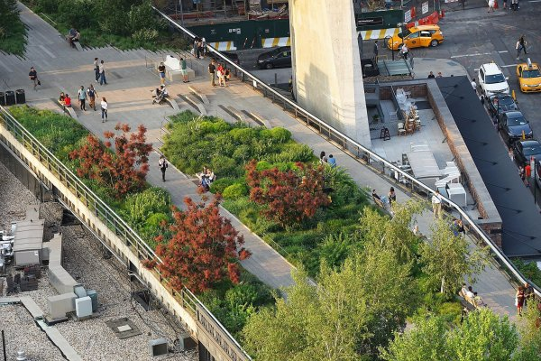 manhattan high line park offers