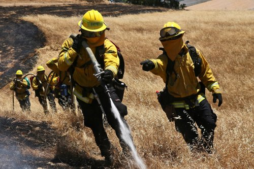 small resolution of with wildfire season at hand california on slightly safer footing this year