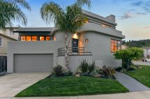 Walk- Oakland Art Deco Enjoys Tiered Backyard With