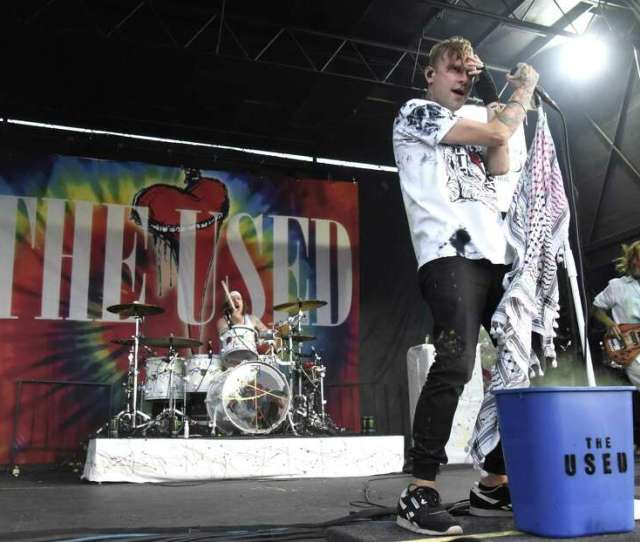 The Used Indie Rock Band From Utah Broke Through In 2004 With Its Top 10