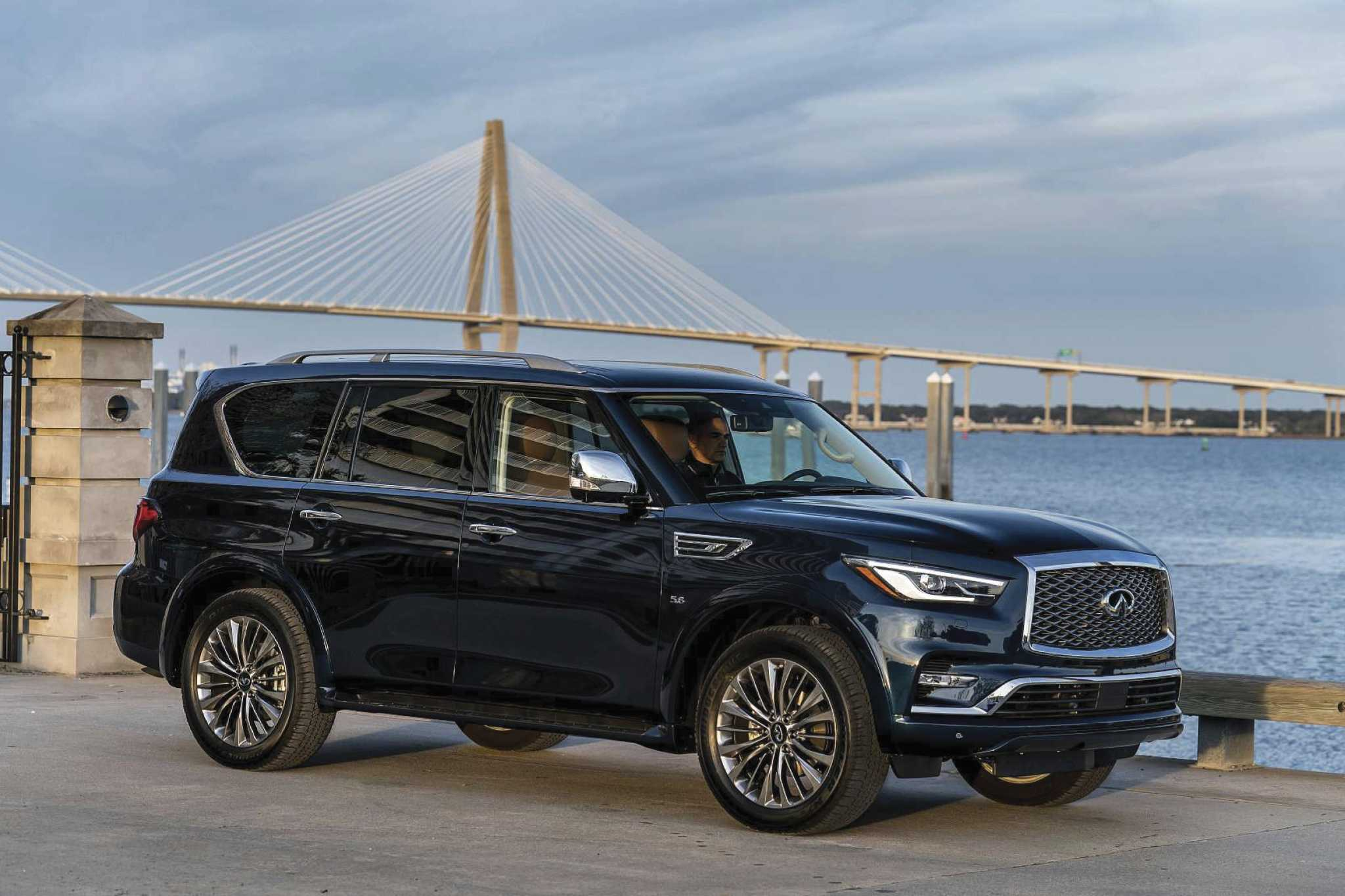 Suv With Captain Chairs Infiniti Qx80 Full Size Luxury Suv Brings Elegance Technology To