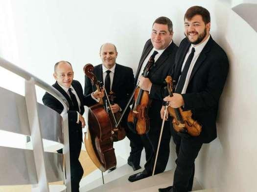 Amernet String Quartet, Galvanized Jazz Band liven Music ...