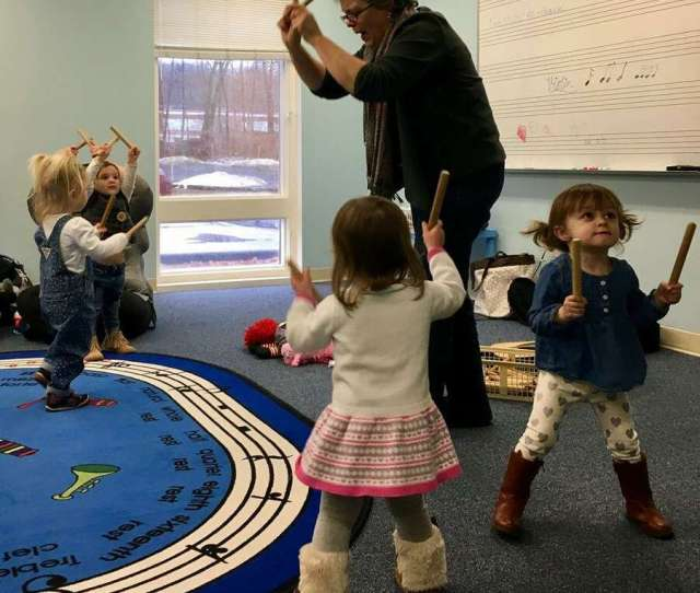 Community Music School Is Now Offering First Notes Musical Beginnings For Young Children With