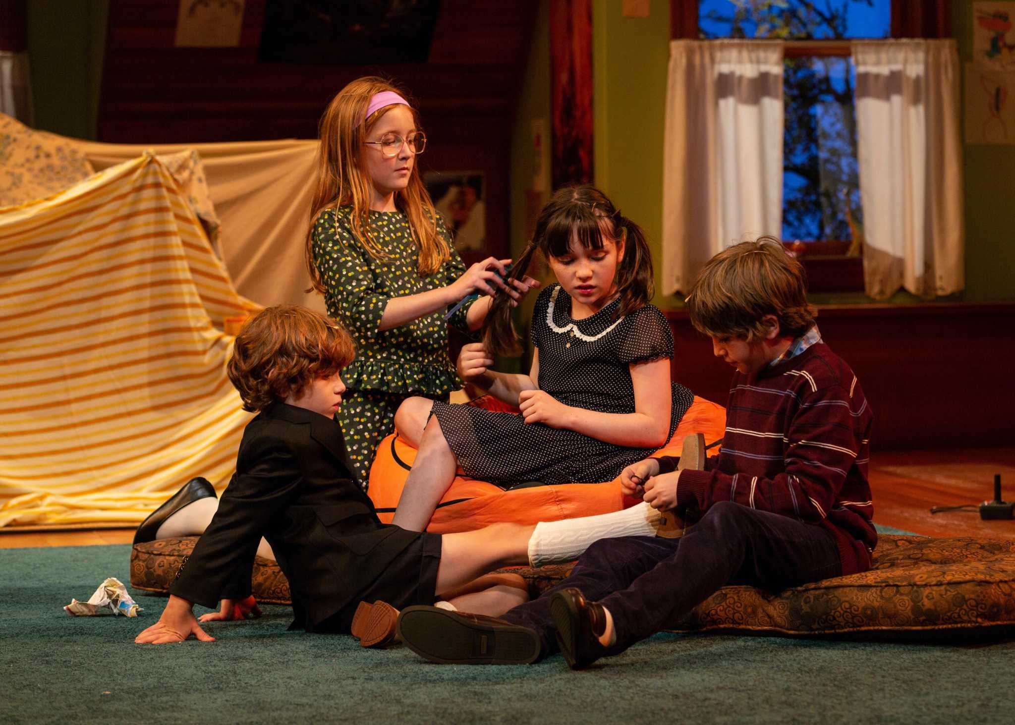 Theater review Bess Wohls Make Believe is bold honest storytelling at Hartford Stage  New