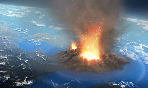 California Super Volcano
