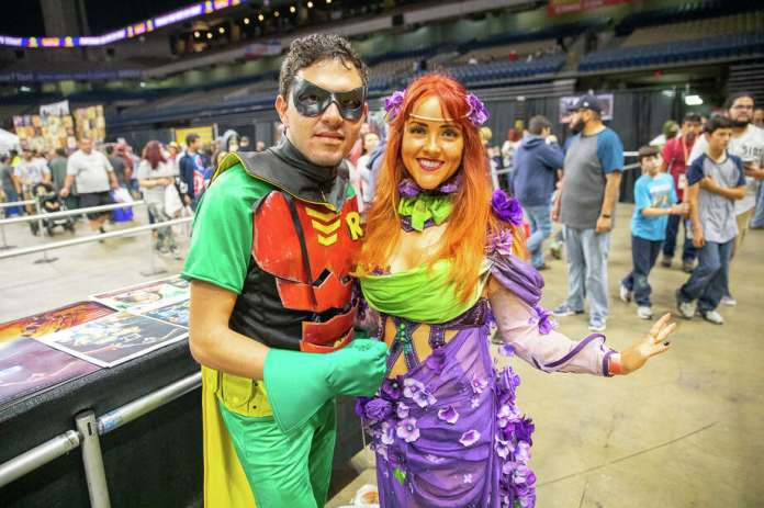 Popular anime and movie characters were brought to life on Saturday, Oct. 27, at the Alamodome. Photo: Joel Pena For MySA.com