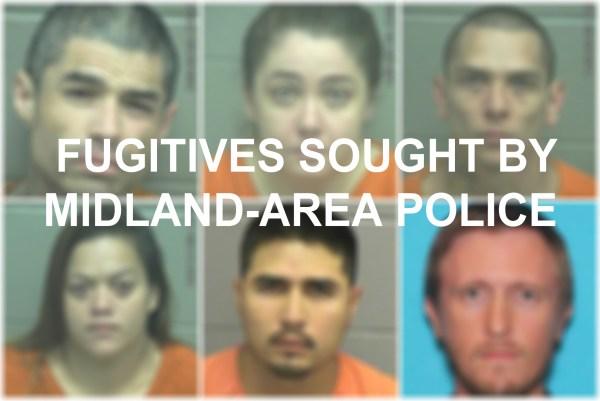 Mugshots Fugitives Sought Midland Area Police - Year of