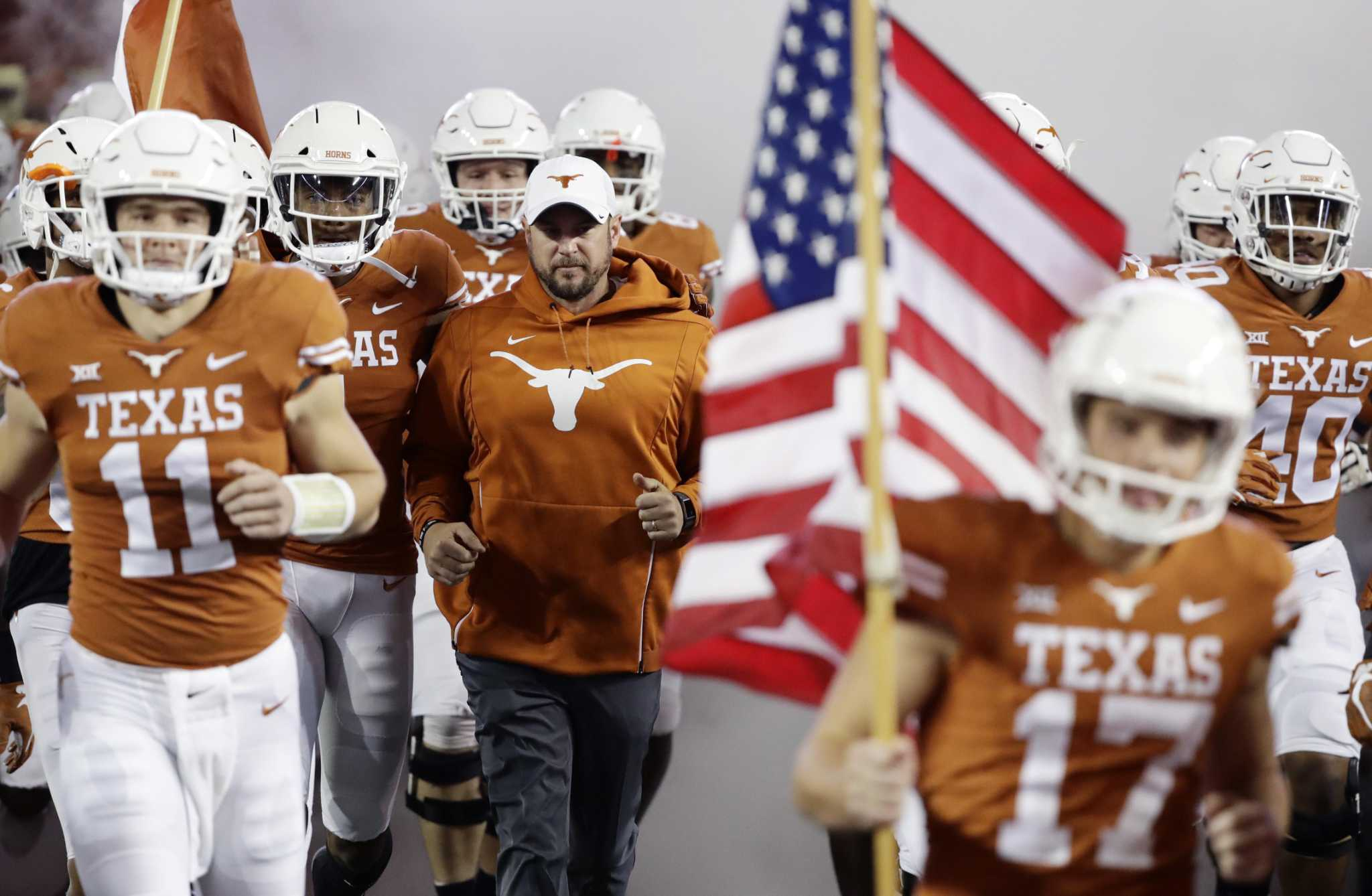 Report Texas Finalizes 2021 Football Schedule