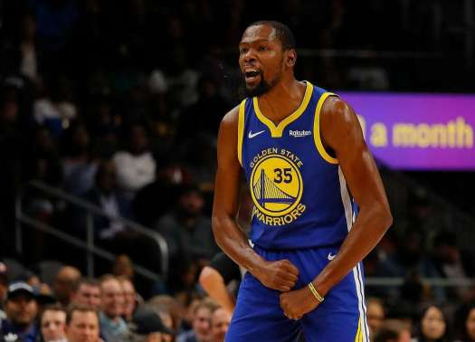 Kevin Durant confronts another heckling fan, but keeps it ...