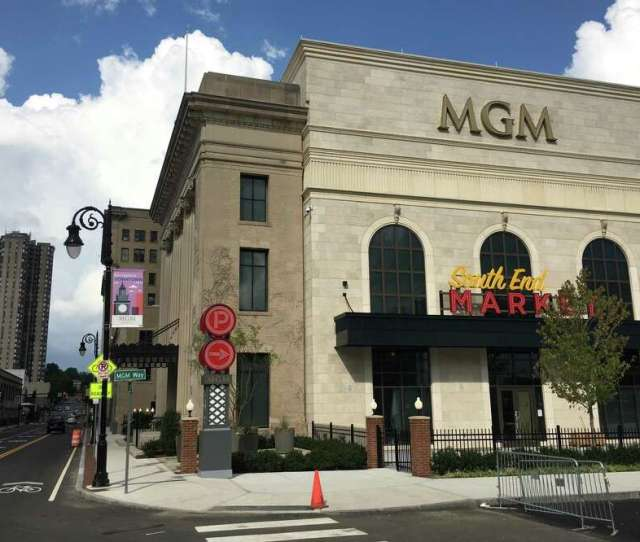An Exterior View Of Mgm Springfield The 960 Million Casino Complex That Opened Last Year