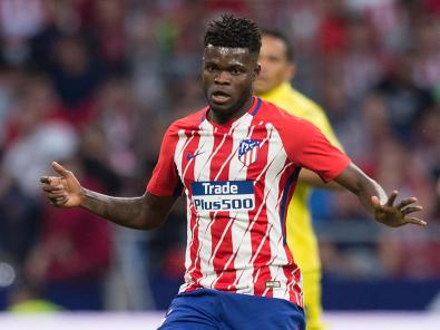 Image result for Ghana's Thomas Partey extends Atletico deal