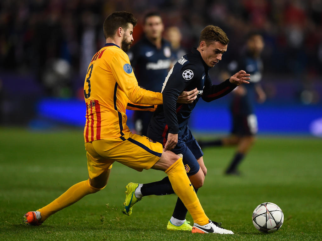 Justru, klubnya terdahulu, atletico madrid menjadi kampiun liga spanyol 2020/21. Primera División » News » Griezmann bei Atleti-Gastspiel ...