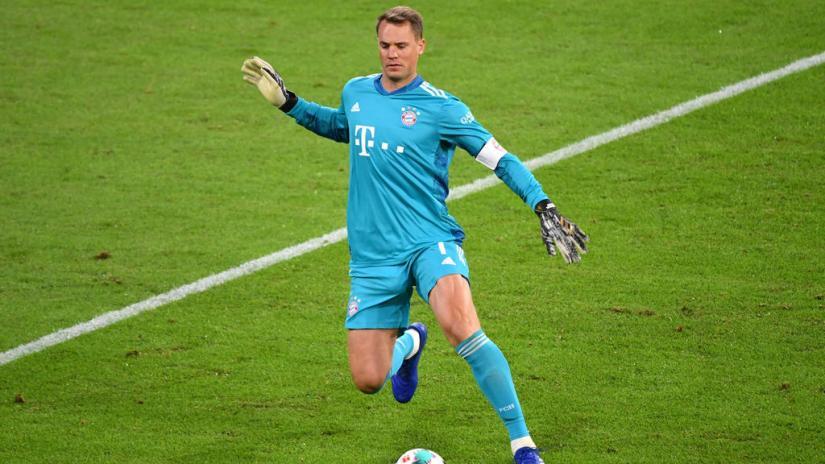 FC Bayern - TOR: Manuel Neuer - Grade: 3.0